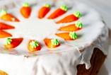 Surimi w sałatce, kremowa dynia na ostro, karotkowe ciasto / wyróżnienie